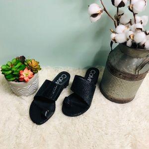 Calvin Klein Women's Heeled Sandal (PM82)